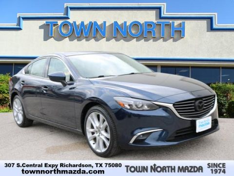 Pre-Owned 2016 Mazda6 TOURING W/MOONROOF/BOSE/SAT/TECH PK