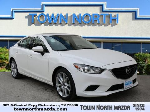 Pre-Owned 2016 Mazda6 TOURING W/MOONROOF/BOSE/SAT