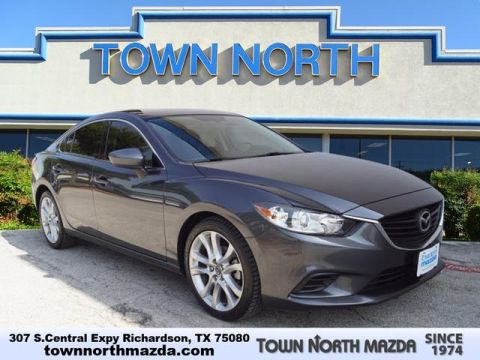 Pre-Owned 2015 Mazda6 TOURING W/LEATHER