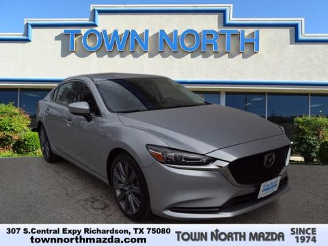 Certified Pre-Owned 2018 Mazda6 Touring w/Moonroof/Leather/Nav