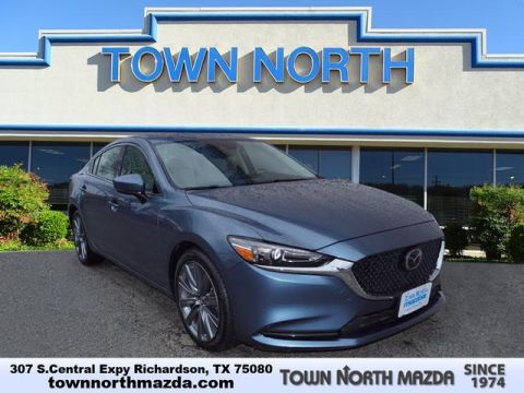 Certified Pre-Owned 2018 Mazda6 TOURING W/MOONROOF/POWER SEAT