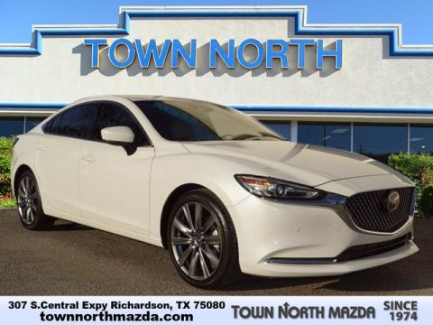 Certified Pre-Owned 2018 Mazda6 CERTIFIED SIGNATURE LOADED