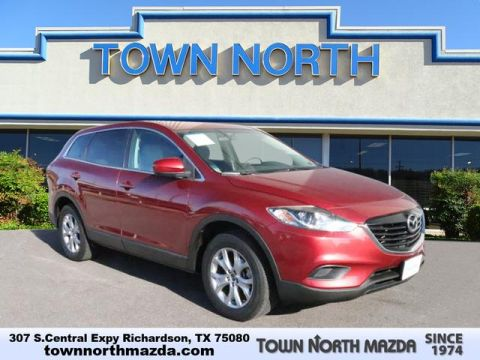 Pre-Owned 2015 Mazda CX-9 7 PASSENGER TOURING W/LEATHER